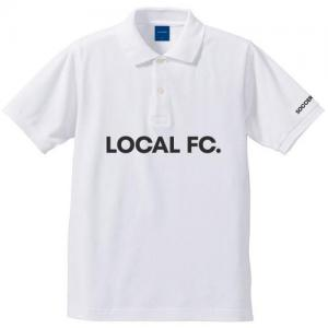 LOCAL FC POLO (ホワイト)